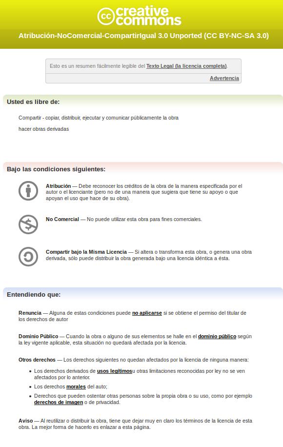 CC español